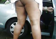 wifes first cock : big booty ebony milfs