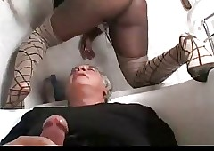 girl face sitting : ebony anal tubes