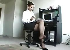 secretary porn : black sex porn